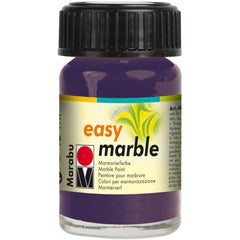 Marabu Easy Marble Paint 15ml - Aubergine