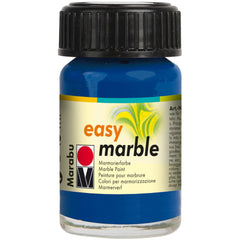 Marabu Easy Marble Paint 15ml - Dark Ultramarine