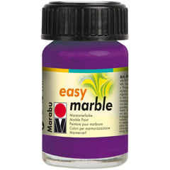 Marabu Easy Marble Paint 15ml - Amethyst