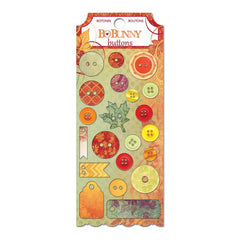 Bo Bunny - Autumn Song Buttons & Embellishments