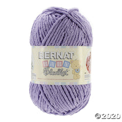 Bernat Baby Blanket Big Ball Yarn - Baby Lilac 10.5oz/300g