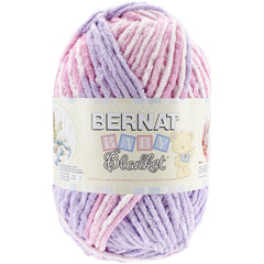 Bernat Baby Blanket Big Ball Yarn - Pretty Girl 10.5oz/300g