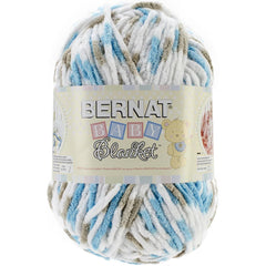 Bernat Baby Blanket Big Ball Yarn - Little Teal Dove 10.5oz/300g
