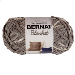 Bernat Blanket Big Ball Yarn - Silver Steel - 300g