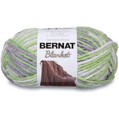 Bernat Blanket Big Ball Yarn - Lilac Leaf 300g