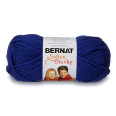 Bernat Softee Chunky Yarn Royal Blue - 100g