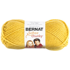 Bernat Softee Chunky Yarn - Glowing Gold - 100g