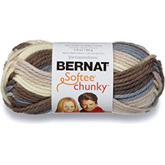 Bernat Softee Chunky Ombre Yarn - Natures Way - 80g