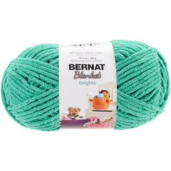 Bernat Blanket Brights Big Ball Yarn - Go Go Green 300g