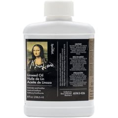 Speedball Art Mona Lisa Linseed Oil 8oz