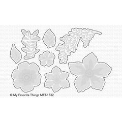 My Favorite Things - Clear Stamps - Tropical Flowers
