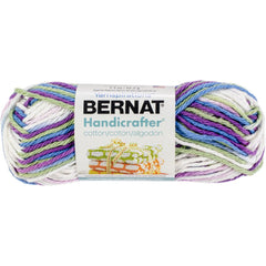 Bernat Handicrafter Cotton Yarn - Ombres, Fruit Punch Ombre - 42.5g