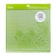 Cricut - Adhesive Back Cutting Mats 12X12in 3 per pack - Green (Standard), Blue (Light) & Purple (Strong)