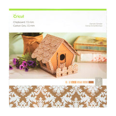 Cricut - Chipboard Sampler, Damask - 1.5 mm