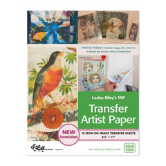 C&T Publishing Transfer Artist Paper 8.5inx11in 18/Pkg