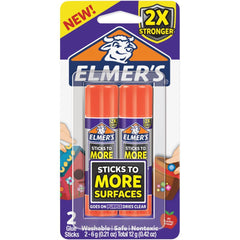 Elmer's Extra Strength Glue Sticks 2 pack .21oz Each