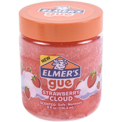 Elmer's Premade Slime - Strawberry Cloud - 8fl oz