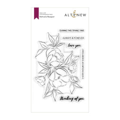 Altenew Stamp Set 4 in x 6in - Delicate Bouquet