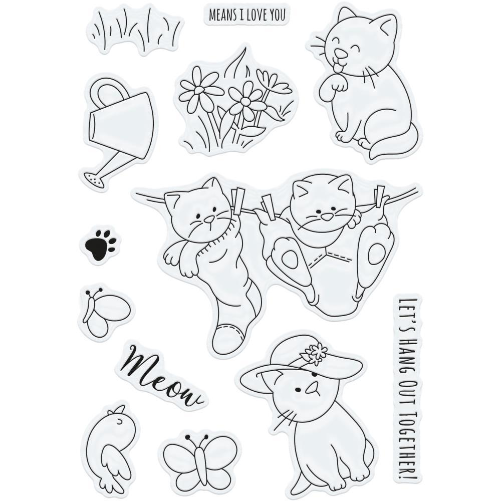 Tonic Studios Clear Stamps Kirby & Lulus Wash Day