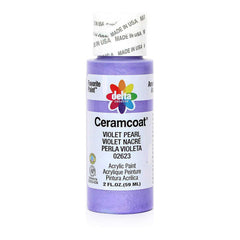 Ceramcoat - Metallic Acrylic Paint 2oz - Violet Pearl