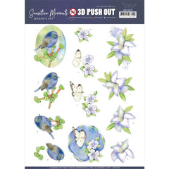 Find It Trading - Jeanine's Art Punchout Sheet - Lily, Sensitive Moments