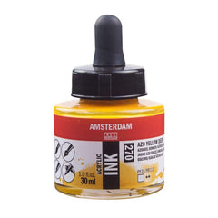 270 - Talens Amsterdam Acrylic Ink 30ml - Azo Yellow Deep