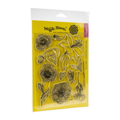 Copy of Waffle Flower - Clear Stamp Set- Bouquet Builder 4
