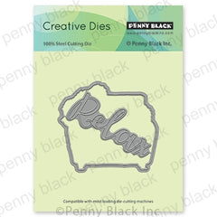Penny Black Creative Dies - Unwind Cut Out