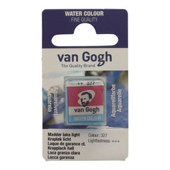Talens - Van Gogh Watercolour half pan - MADDER LAKE LT 327