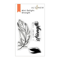 Altenew Mini Delight: Strength Stamp Set