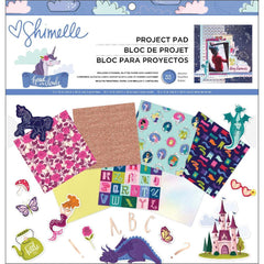 American Crafts - Shimelle Head In The Clouds Project Pad 12inch X12inch 33 pack