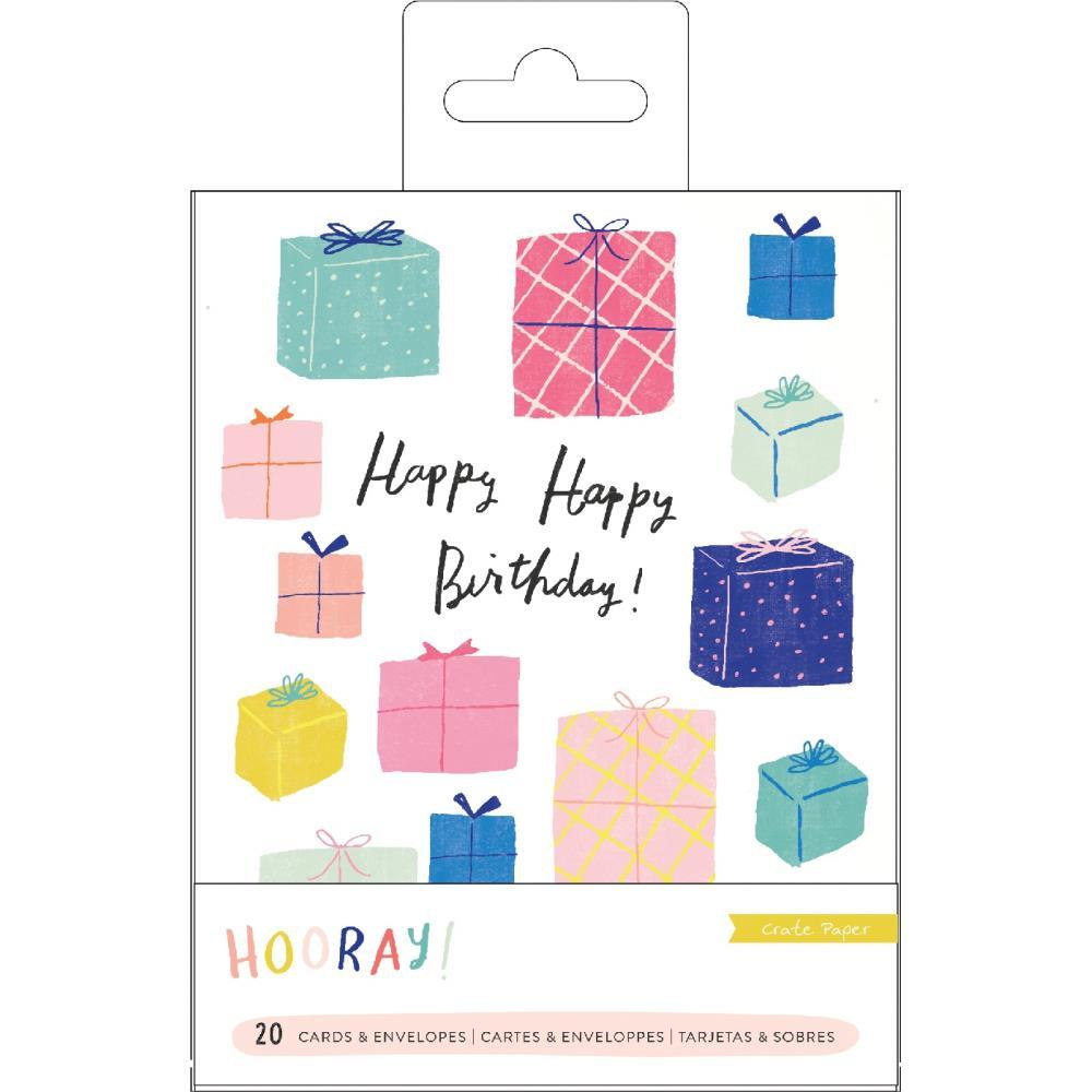 Crate Paper - Hooray Card Set