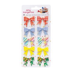 American Crafts Amy Tan, Picnic In The Park - Paper Bows Stickers 10 pack