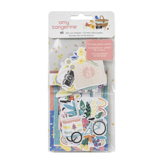 American Crafts Amy Tan, Picnic In The Park - Ephemera Cardstock Die-Cuts 40/Pk