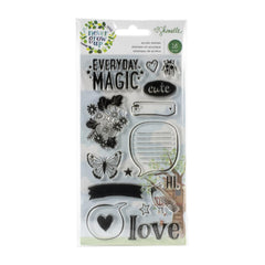 American Crafts Shimelle Never Grow Up - Acrylic Stamps 16 pack