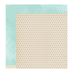 "American Crafts - Dear Lizzy 5th & Frolic Double-Sided Cardstock 12""X 12"" Simplicity Circle"