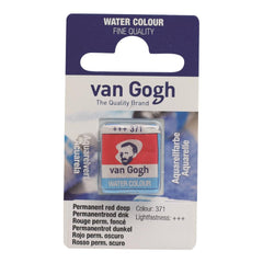 Talens - Van Gogh Watercolour half pan - PERM.RED DP 371