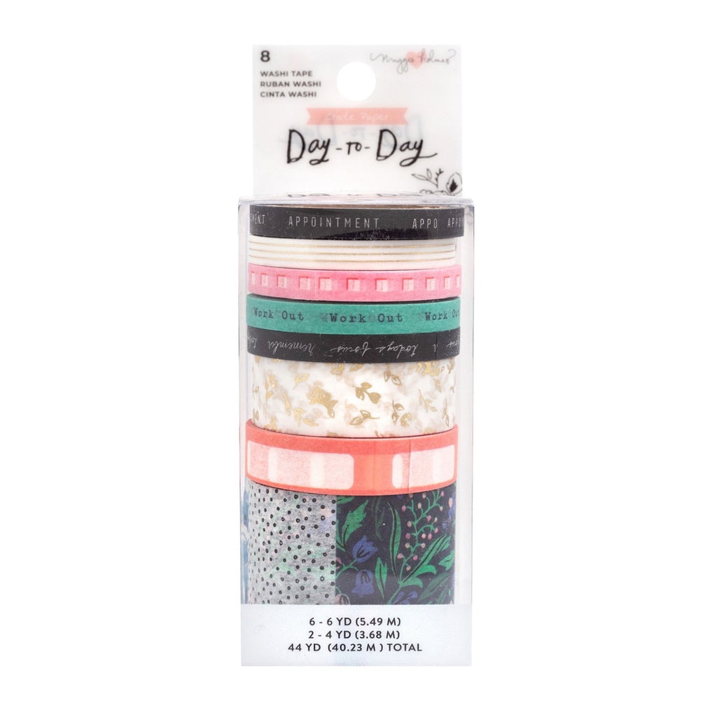 Maggie Holmes Day-To-Day Planner - Washi Tape 8 pack - Daily ...