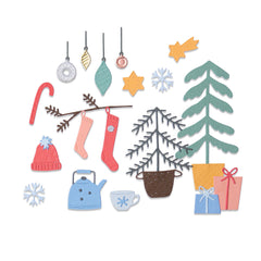 Sizzix Thinlits Dies By Olivia Rose 22/Pkg - Christmas Cheer