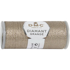 DMC Diamant Grande Metallic Thread 21.8yd - Old Rose
