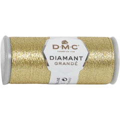 DMC Diamant Grande Metallic Thread 21.8yd - Light Gold