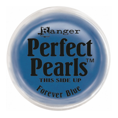 Ranger Perfect Pearls Pigment Powder .25oz - Forever Blue