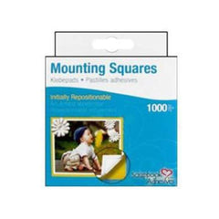 Scrapbook Adhesives Mounting Squares - Repositionable (1000Pc)