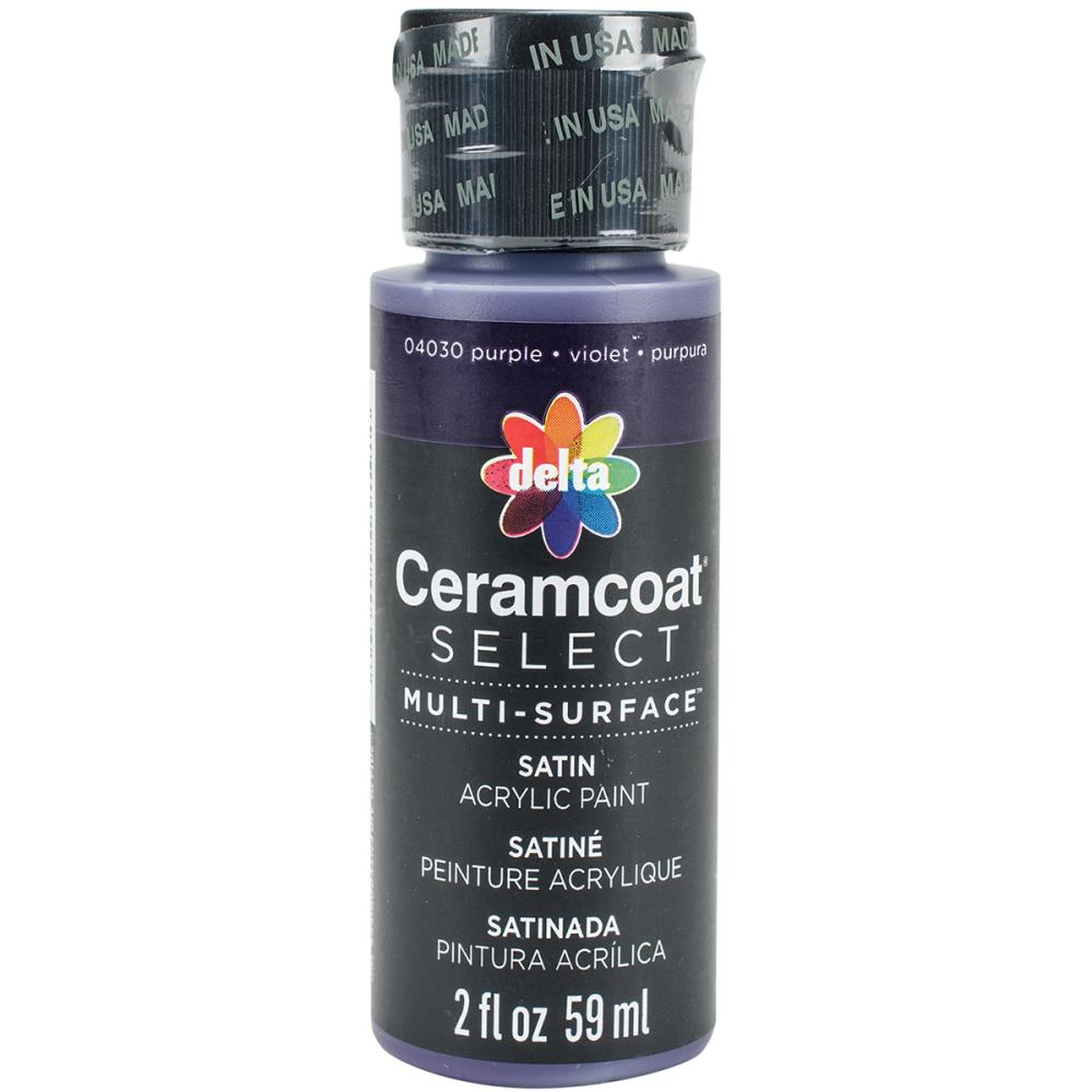 Ceramcoat Select Multi-Surface Paint 2oz - Purple