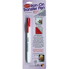 Sulky Iron-On Transfer Pen Red