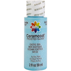 Ceramcoat Frost Paint 2oz - Exotic Sea