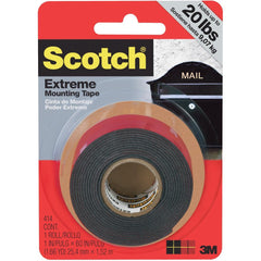 3M Scotch Extreme Mounting Tape 1 inch X60 inch Black