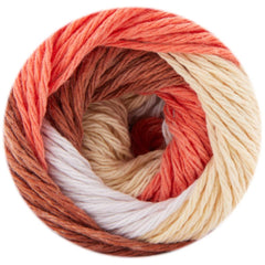 Premier Yarns Home Cotton Yarn - Multi - Autumn Stripe - 60g
