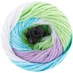 Premier Yarns Home Cotton Yarn - Multi - Spring Stripe - 60g