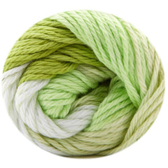 Premier Yarns Home Cotton Yarn - Multi - Sprout Stripe - 60g